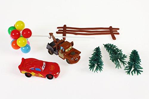 Unbekannt 7-Teiliges Dekorationsset von Cars
