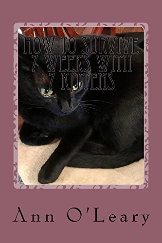 How to Survive 7 Weeks with 7 Kittens: Blackie raises her own kitties with her usual panache. (Cutie, A Very Resilient Cat Book 2) (English Edition)