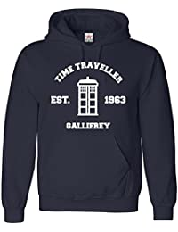 Inspired DOCTOR Time Travel Hoodie in Adult Hooded Top All sizes -