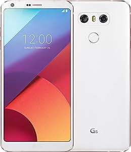 LG G6 Smartphone Débloqué 4G (Ecran : 5,7 Pouces - 32 Go - 4 Go RAM - Simple Nano-SIM - Android Nougat 7.0) Blanc (Import Allemagne)