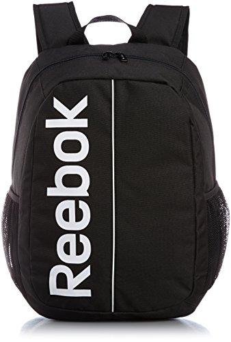 Reebook Sport Roy BKP - Bolso unisex, color negro / blanco, talla única