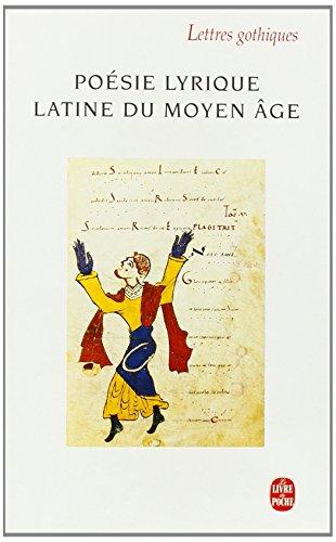Poésie lyrique latine du Moyen Âge