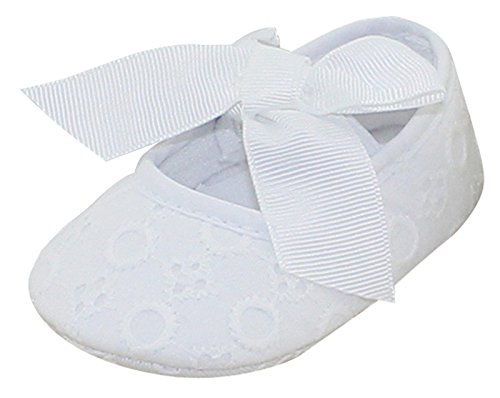 Avitalk Zapatos Antideslizantes Para Bebé Niña de Flores de Encaje Zapatos de Princesa de Bowkont...