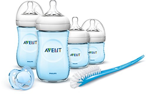 Philips Avent - Set Regalo gama Natural para recién nacidos, color azul
