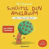 Schüttel den Apfelbaum - Ein Mitmachbuch. Für Kinder von 2 bis 4 Jahren: Zum Schütteln, Schaukeln, Pusten , Klopfen und Sehen, was dann passiert - Nico Sternbaum