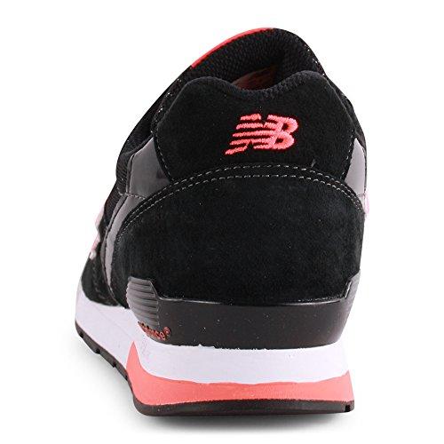 New Balance - Baskets basses - Homme - Sneakers 996 Suede Noir pour homme Black Orange