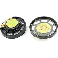 2 pezzi 8 Ohm 0,25 W 29 mm piatti rotondi Magnet altoparlante per elettrico Toys