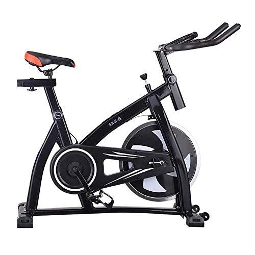 YGQNH Spinning Bike, Heimtrainer, Fahrradtrainer, Heimtrainer Mit LED-Anzeige, Benutzergewicht Bis 200kg