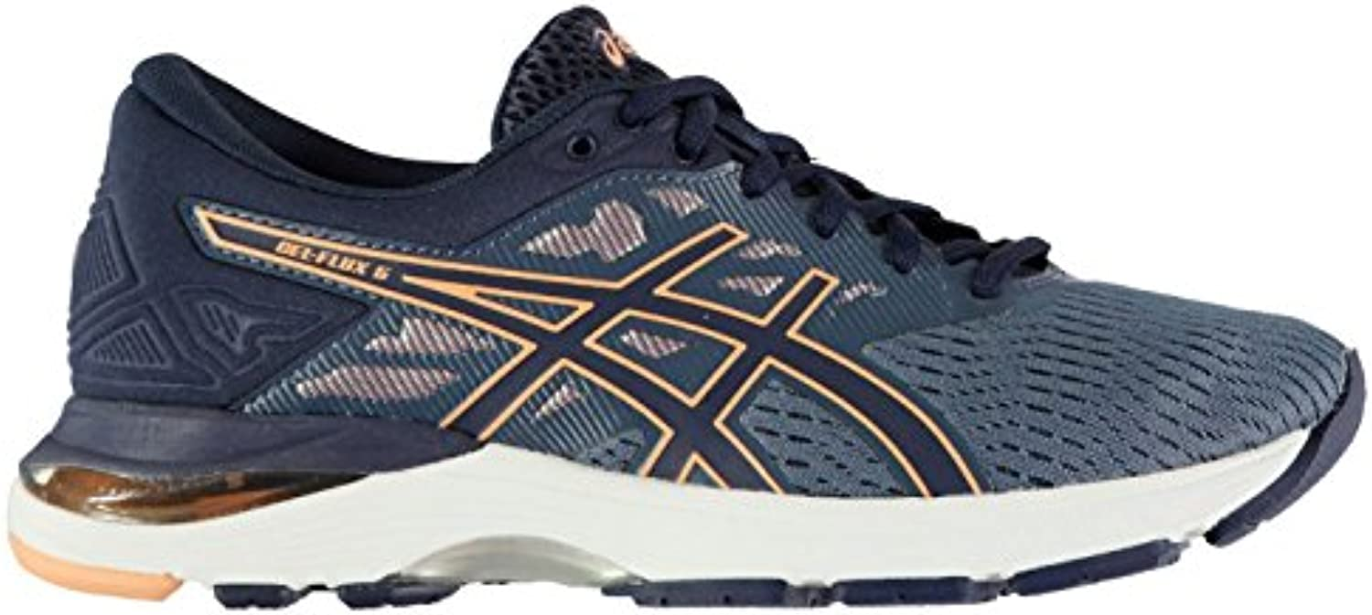Official Gel Shoes Asics Gel Official Flux 5 Chaussures de course à pied pour femme Bleu/rouge Run Jogging Baskets Sneakers 5425d8