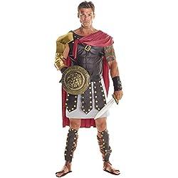 Soldado gladiador romano marrón Disfraz Carnevale