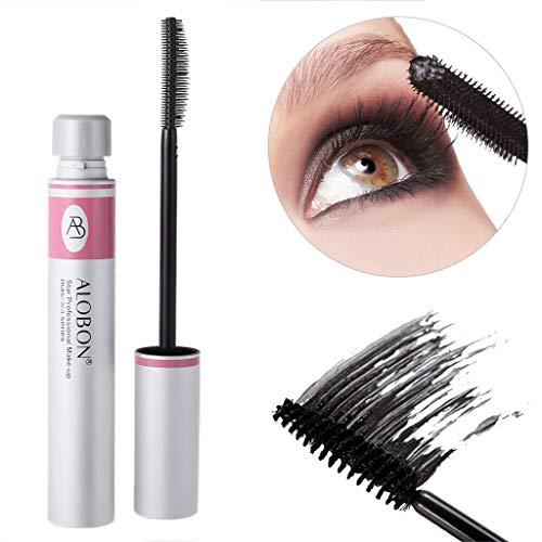 6a8342d4d94 Black Ink Alobon 3D Fiber Eye Lashes Mascara False Eyelashes Extension  Makeup