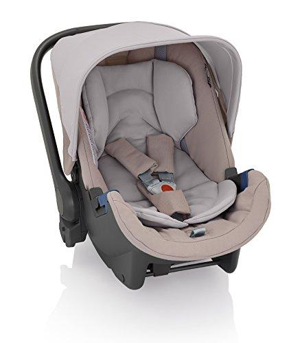 """Preisvergleich Produktbild Inglesina AV60F6SND Schützen Sie Ihr Kind mit dem Babyautositz Grupp0+ """"Huggy"""" Gute Polsterung 5 Punktgurt Leichte Montage im Auto Passend für die Modelle Quad, Mehrfarbig (Sand)"""