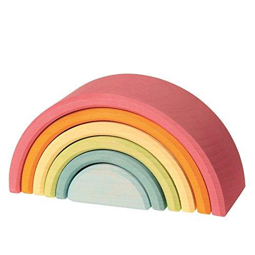 GRIMMs Regenbogen, 6-teilig, pastell