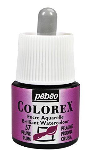 Colorex Aquarelltinte, PET, pflaume, 4.5 x 4.5 x 7 cm, 1 Einheiten