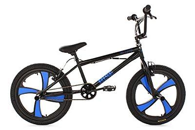 KS Cycling Fahrrad BMX Freestyle Rise, Schwarz, 20, 544B