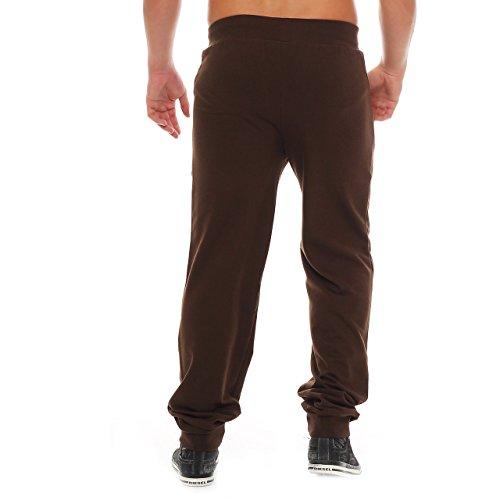 Finchman Terry Trouser Trachten Jogginghose Hose Sweatpant Lederhose Stil Braun