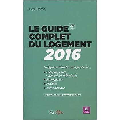 Le guide complet du logement 2016