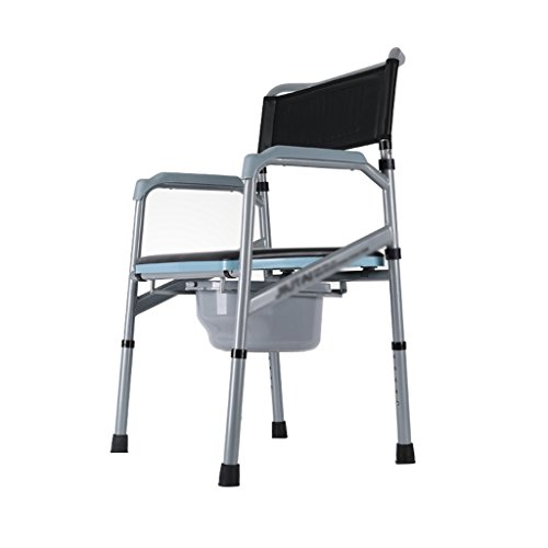 Siège de Toilette de Chaise de Commode pour Les Personnes âgées pour Le siège de Toilette handicapé Se Pliant pour la Grossesse