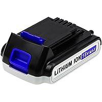 Eagglew 18V 2.0Ah Li-Ion Batería de Repuesto para Black&Decker