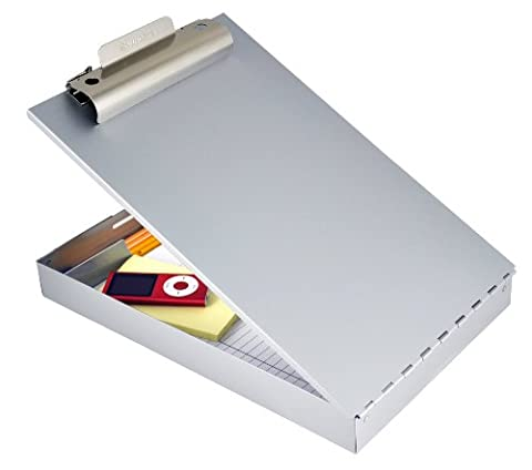 Saunders Recycled Aluminum Redi-Rite™ Storage Clipboard, Legal Size, 8.5 x 14-Inches (11019)