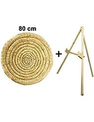 Sekula-Archery Rotondi paglia bersaglio 80cm con un supporto