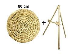 Idea Regalo - Sekula-Archery Rotondi paglia bersaglio 80cm con un supporto
