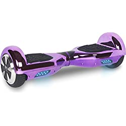 "Cool&Fun Hoverboard Patinete Eléctrico Scooter talla 6.5"" de Shop Gyrogeek(Púrpura)"