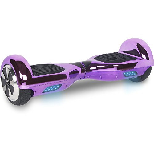 Cool&Fun Hoverboard 6,5 pouces Chromé Smart...
