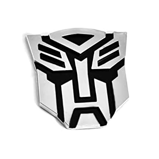 Transformers Autobot 3D Chrom Auto Emblem Badge Aufkleber Decal - Large Size