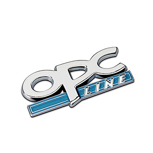 Dsycar 1 Unids 3D Metal OPC Lateral Del Coche Guardabarros Trasero Tronco Emblema Insignia Etiqueta calcomanía (1)