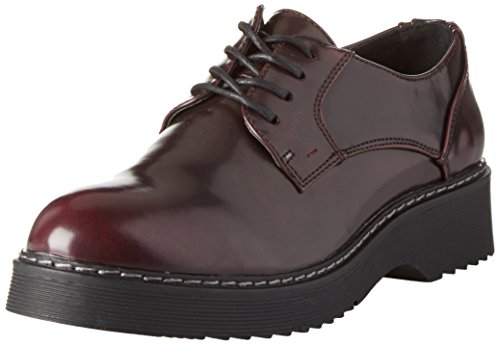 Primadonna 100603905ab, Oxford Chaussures Femme Rouge (bolred)
