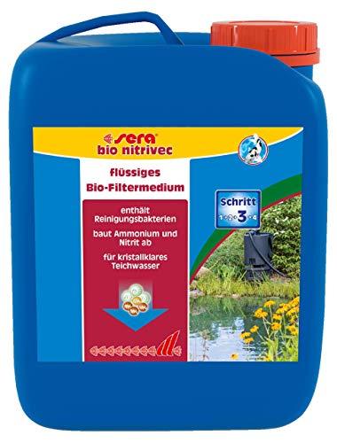 sera 07501 pond bio nitrivec 2500 ml - Das Flüssigfiltermedium der Extraklasse für den Gartenteich