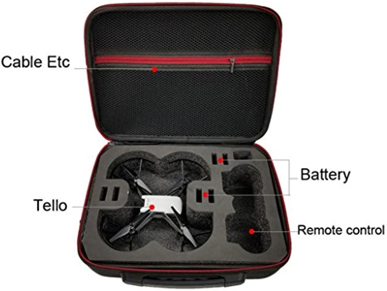 Zarupeng Funda de Hombro Bolsa Protector EVA Interior Impermeable para dji Tello Drone Nuevo (Negro)  -