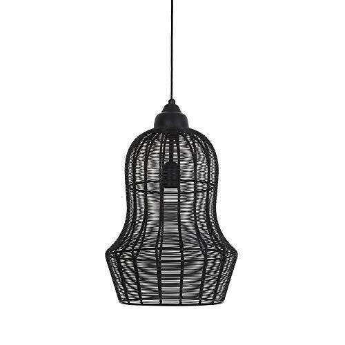 Light & Living Hängeleuchte/Pendelleuchte Ø27x42 MEIA matt schwarz für E27 Leuchtmittel für Wohnzimmer Esszimmer Schlafzimmer usw.
