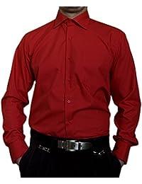 c78a6b31b7aa3c Tonelli Herren Designer Hemden B-Ware Freizeit Hemd TOK11TO klassischer  Kent Kragen Lang Arm 2