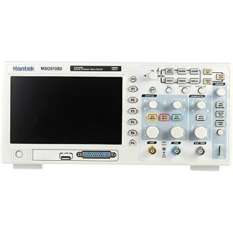Hantek Professionista MSO5102D Misto di Memorizzazione Digitale Oscilloscopio 2CH 100MHz 7