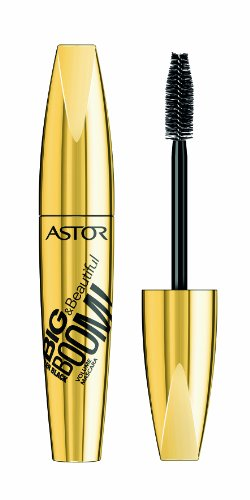 Astor BIG & Beautiful Boom! Killer Black Mascara, 910 (schwarz), Volumen, 1er Pack (1 x 12 ml)