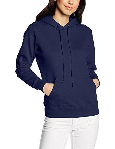Frutta Di Orto - Hooded Sweat, Felpa unisex,  manica lunga, collo con cappuccio Blu (Navy)