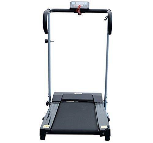 homcom - Tapis roulant Elettrico Attrezzo Ginnico richiudibile Attrezzo per l'Allenamento Domestico Schermo LCD 500 W 3 spesavip