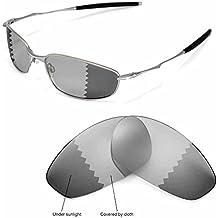 Walleva Ersatzgläser für Oakley Whisker Sonnenbrille - 9 Mehrfache Optionen