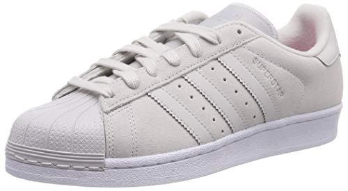 pretty nice bd744 24e27 adidas Superstar W, Chaussures de Sport Femme - Gris - Gris (Griuno Griuno