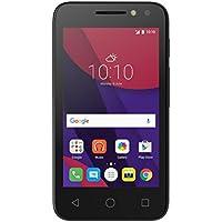 Alcatel Pixi 4 Smartphone Débloqué 3G (Ecran: 4 Pouces - 4 Go - Double SIM - Android 6.0) Noir