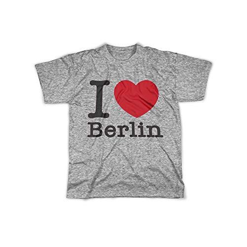 licaso Herren T-Shirt mit I Love Berlin Aufdruck in Grey Gr. XXXXL I Love Berlin Design Top Shirt Herren Basic 100{e02b903a968a6d94d6afc31ef3e795edaa785aa3195783d7f5922c63b20ac514} Baumwolle Kurzarm