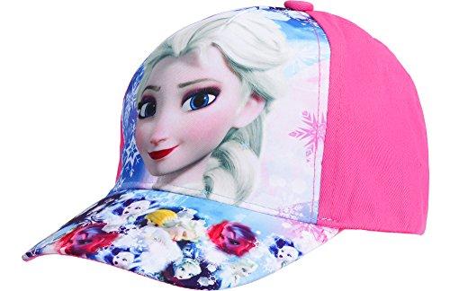 Frozen Gorra para Niñas QE4011 (Rosa (4011), 54)
