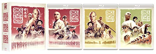 Once Upon A Time In China Trilogy (Eureka Classics) Limited Edition 4-Disc Blu-ray Box Set (Eureka-film)