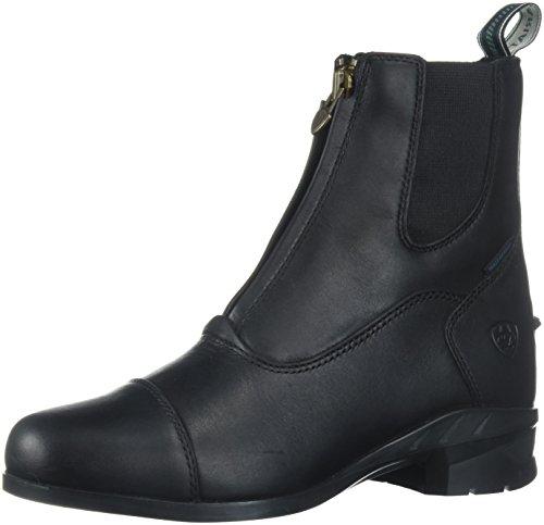 Ariat Damen Stiefelette Heritage IV Zip H2O (mit Reißverschluß vorne), schwarz, 6.5 (40)