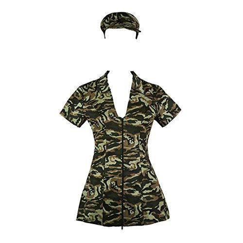 Sense-touch GCC Kleid DREI-Stück Anzug Uniform militärische Tarnung, A, M -