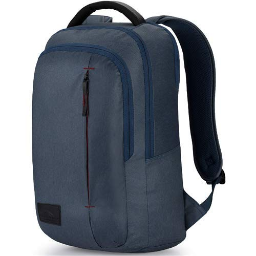 High Sierra Business Slim Pack Blau Rustic Blue Hthr/Chili Pepper (Sierra-computer-rucksack High)