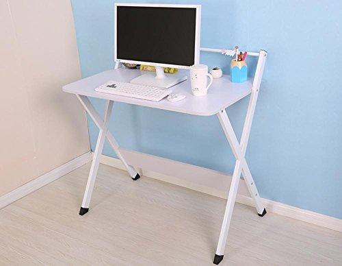 XXTT-Moda portatile scrivania moderna pieghevole semplice scrivania a casa , White