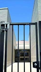 Locinox - Ferrures De Portail Sur Gonds - Ferme-Porte Pour Portillon